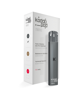 Cigarette électronique KoddoPod Nano gris anthracite